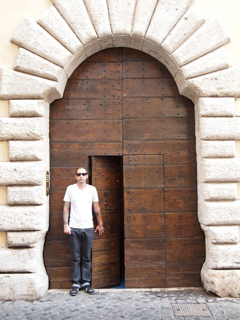 Hidden door to our Vacation Rental
