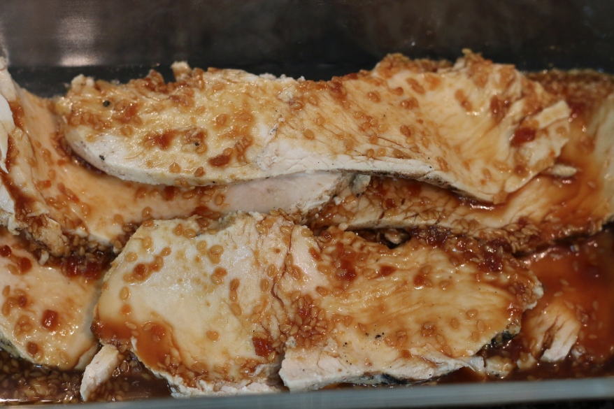 Grilled Chicken and Island Soyaki