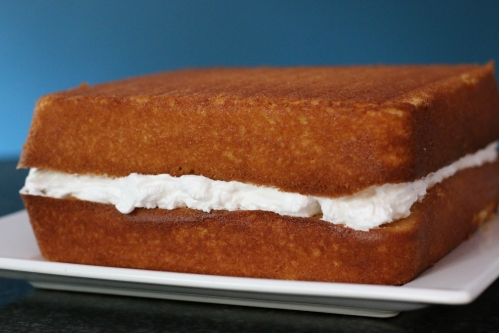 Layered White Cake
