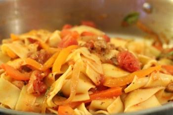 Italian Drunken Noodle