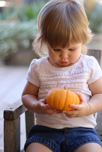 Viona and Pumpkin