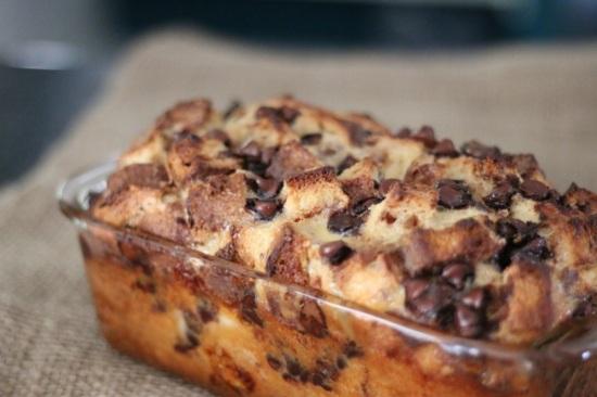 Cinnamon and Chocolate Bread Pudding