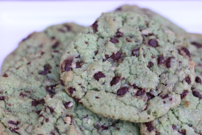 Mint & Chocolate Cookies