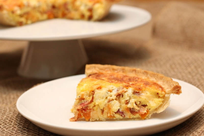 Winter Quiche - So good!