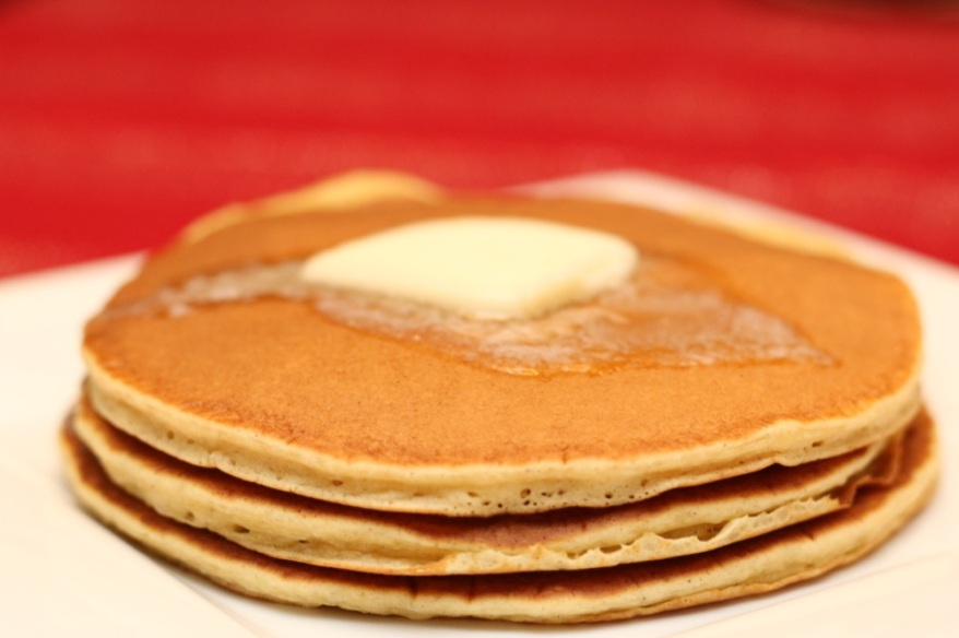 Delicious Egg Nog Pancakes