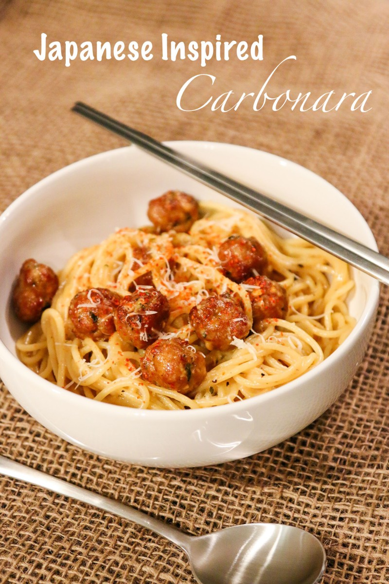 Japanese inspired Carbonara
