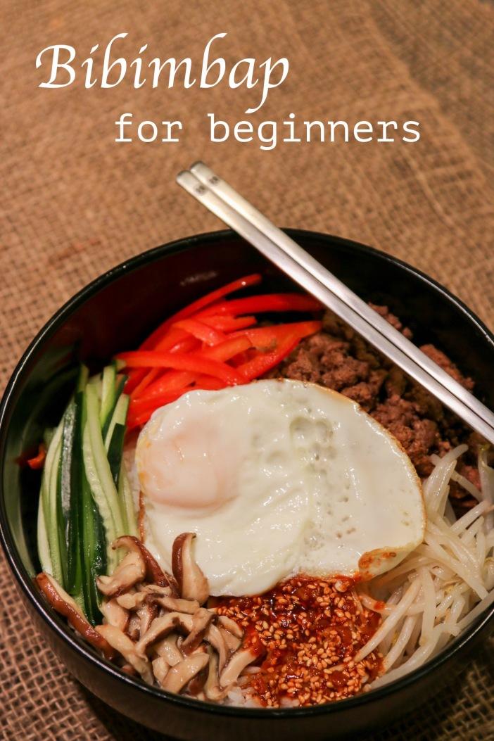 Bibimbap for beginners
